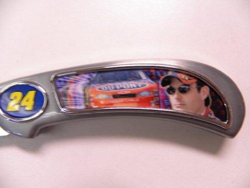 Franklin Mint Nascar Jeff Gordon Driving Pocket Knife B11C205