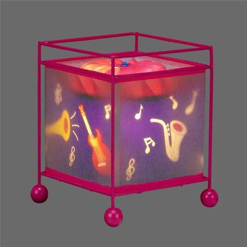 MUSICAL INSTRUMENT DESIGN MAGIC REVOLVING LAMP-KL517S
