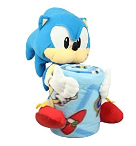 Amazon.com - Sonic the Hedgehog Throw & Pillow Set by Northwest