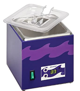 Edvotek 539 Stainless Steel Digital Waterbath, 1.8L Capacity, Ambient to 95 Degree C