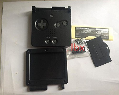 Replacement Full Housing Shell Part Case Cover for Nintendo GBA SP Gameboy Advance SP Color Black (Gameboy Advance Sp Full Housing compare prices)