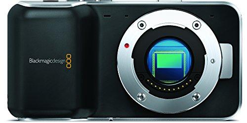 Blackmagic Design シネマカメラ ポケットシネマカメラ マイクロフォーサーズマウント スーパー16センサー 3.5インチスクリーン ブラック 001938