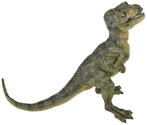 Papo Green Baby T-Rex Toy Figure - 1