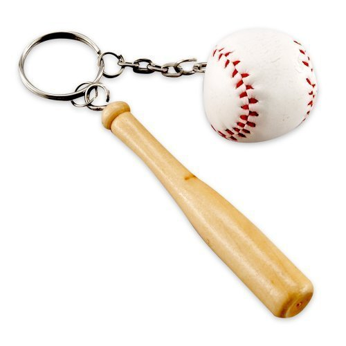 Baseball & Bat Keychains