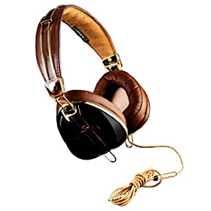 Skullcandy ROC NATION Aviator Brown/Gold (S6AVCM090) Over-ear Headphones with In-line Mic