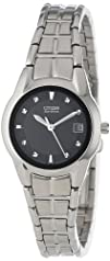 Citizen Womens EW1410-50E 8220Eco-Drive Stainless Steel Watch