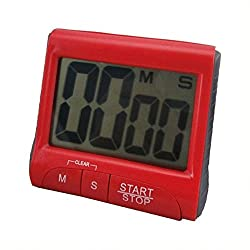 1 pc Large LCD Digital Kitchen Timer Count-Down Up Clock Loud Alarm UL