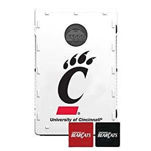 Buy Baggo 2090 University of Cincinnati Bearcats Complete Baggo Bean Bag Toss Game by Baggo