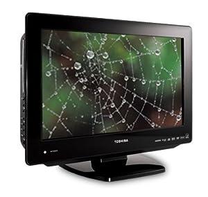 "Toshiba 19LV61K 19"" 720p LCD HDTV w/ Built in DVD Player Open Box"