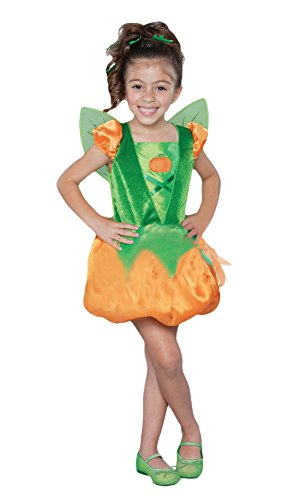 Ace Halloween Children's Kids Girls Cute Pumpkin Elf Princess Costumes