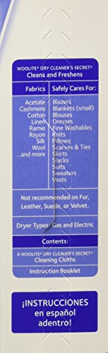 how to use woolite dry clean