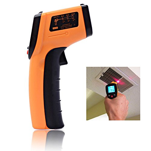 New ℃/℉ Digital Non-Contact Infrared Thermometer Temperature Laser Gun Multi-Purpose For Medical Baby Kids Adult Body Forehead, Industrial use FDA Approved with LCD Display & 2X Batteries (Ebay Gift Card Email Delivery compare prices)