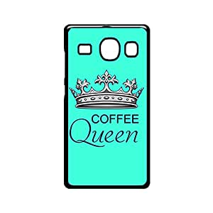 Vibhar printed case back cover for Samsung Galaxy A8 CoffeeQueen