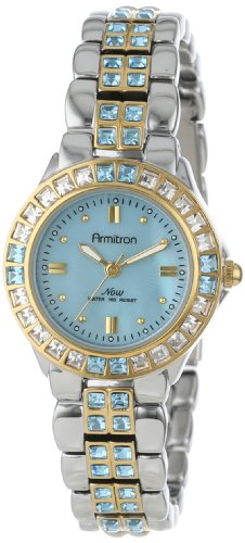 Armitron Ladies Now Two-Tone Crystal Dress Watch