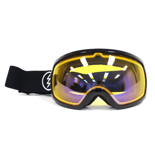 Electric Eg2 Snow Goggle, Gloss Black, Yellow/Blue Chrome
