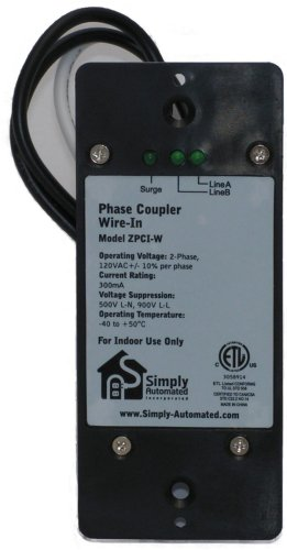 Simply Automated Zpci-W Universal Wired In Phase Coupler