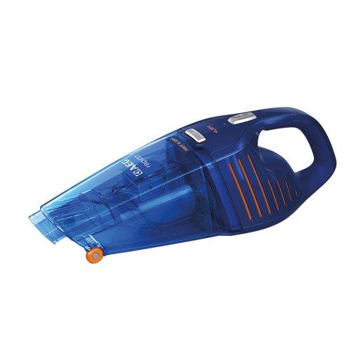 AEG Rapido AG5104WD  Akku-Handsauger / beutellos / 4.8 V NiMH-Akku / Nass und Trocken / Filter und Wasserfalle / dunkelblau