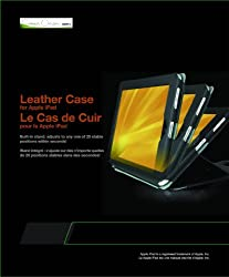 Green Onions Leather Case with Stand for iPad (RT-IPADCSL02BL)