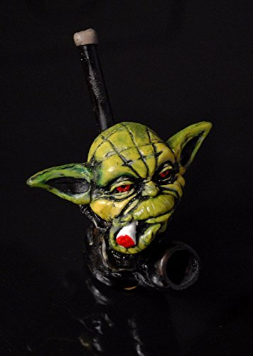 JCUNIVERSAL-Handmade-Tobacco-Pipe-Star-Wars-Yoda-Head-Design