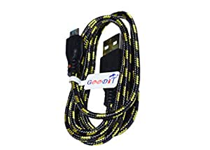 GooDiT Round Fabric Data Cable Data Cable For Micromax A111