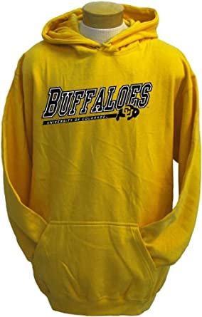 NCAA Mens Colorado Buffaloes Zooey Hooded Sweatshirt by CI Sport