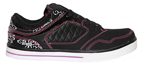 airwalk-skateboard-womenzs-shoes-collar-lace-black-sneakers-shoes-shoe-size36