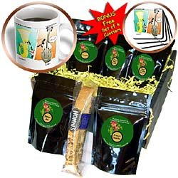 Londons Times Funny Music Cartoons - Musical Instrument Phone Calls - Coffee Gift Baskets - Coffee Gift BasketLondons Times Funny Music Cartoons - Musical Instrument Phone Calls - Coffee Gift Baskets - Coffee Gift Basket