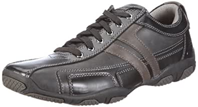 Skechers USA Men's Orton Fario Oxford,Black,6.5 M US