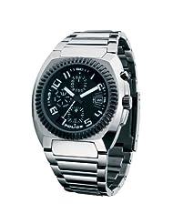 Police Men's PL-12083JSTB/02M Arena Black Dial Watch