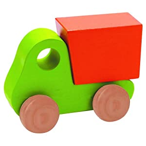 Educo Little Dump Truck Green By Hape International