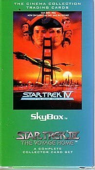 "Star Trek IV ""The Voyage Home"" SKYBOX Cinema Collection Trading Cards - A Complete Collector Card Set"