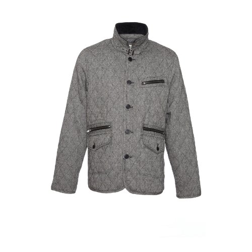 Blend - Grey Mens Quilted Jacket Size Large