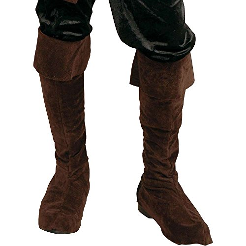 Boys Brown Pirate Boot Tops