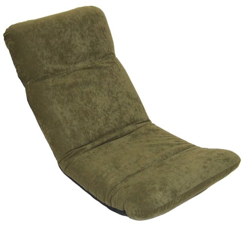 ゆったりホットカーペット用座椅子 PC-300 (ヤマザキ) 日本製 グリーン