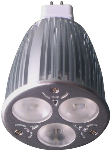 Encore Dp-Dcsl3X3Gu10A4 Dimmable Gu10 3 By 3-Watt Led Bulb, Warm White, Dimmable