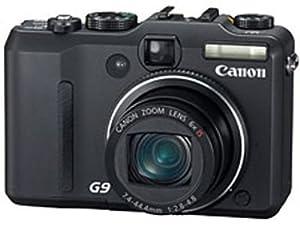 """Canon PowerShot G9 Appareil photo compact numérique 12,1 Mpix Zoom optique 6x Ecran LCD 3"""" Stabilisé Noir"""