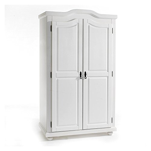 Garderobenschrank-Dielenschrank-Kleiderschrank-MNCHEN-Kiefer-2-trig-2-Tren-wei