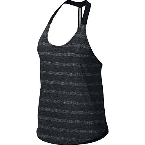 Women's Nike Elastika Elevate Training Tank Black Size Medium