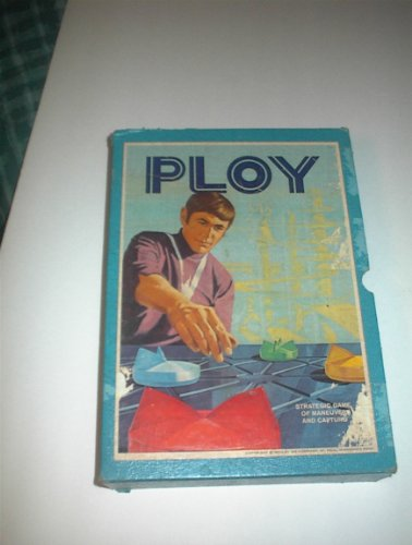 PLOY: Strategic Game of Maneuver and Capture (1970) 3M Bookcase Games - 1