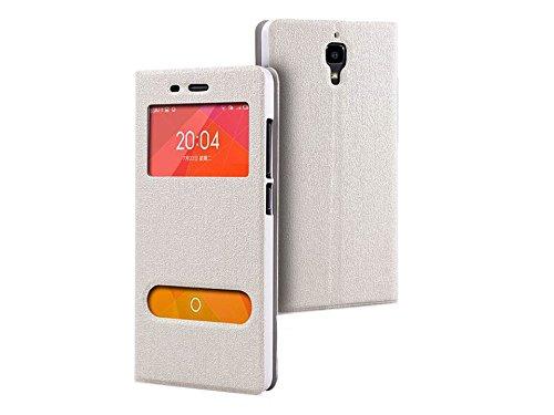 Raaisin Flipcover For Xiaomi Mi4(Pure White)