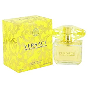 Versace Yellow Diamond by Versace, Eau De Toilette Spray 3 oz, Women