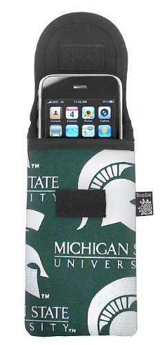 Michigan State University Phone Case Glasses Holder MSU Spartans Logo Fits APPLE IPHONE TOUCH Samsung LG Nokia and more