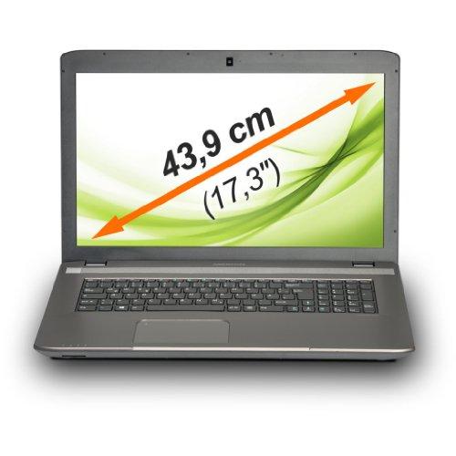 MEDION AKOYA E7225 (MD 99142) 43,9 cm (17,3 Zoll) Notebook (Intel Celeron N2840, 2.16GHz, 500GB HDD, 4GB RAM, USB 3.0, Windows 8.1) titan