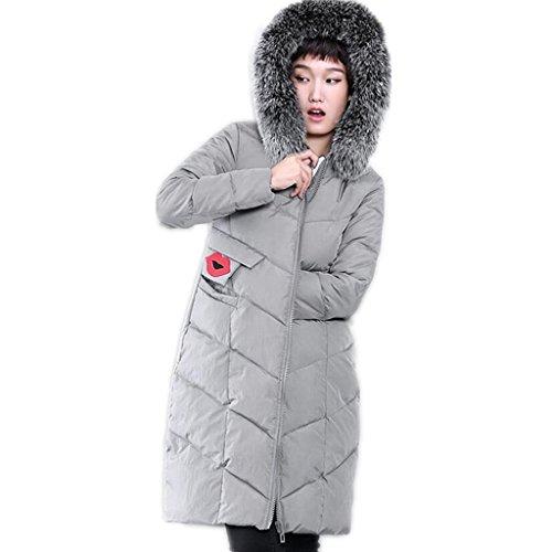 zyqyjgf-mid-length-down-jacket-womens-thickened-lightweight-weatherproof-winter-full-zip-fur-collar-