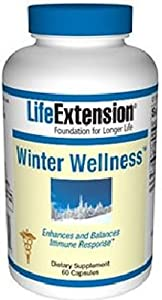Life Extension Winter Wellness Vegetarian Capsules, 60 Count