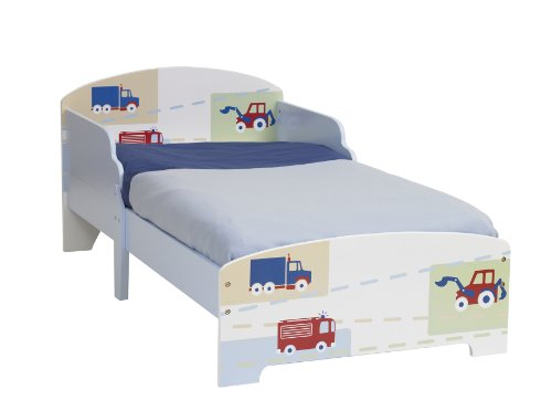 Worlds Apart Vehicle Toddler Bed