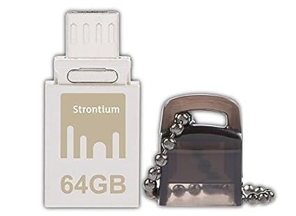 Strontium Nitro (SR64GSBOTG1) 64 GB OTG Pen Drive(Nitro (SR64GSBOTG1))