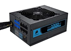 Corsair Professional Series™ HX1000 80 Plus Certified Modular Power Supply (CMPSU-1000HX)