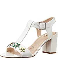 2565acd46 Amazon.in  White or Silver - Fashion Sandals   Women s Shoes  Shoes ...