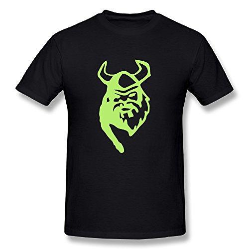 Lht Men'S Warrior Cotton T-Shirt M Black